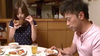Akari Minamino in Older Brothers Wife Fucked in Both Holes part 2