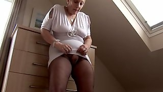 Curvy mature hairy milf mrs. robinson compilation tease