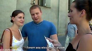Slovakian couple has foursome sex for money